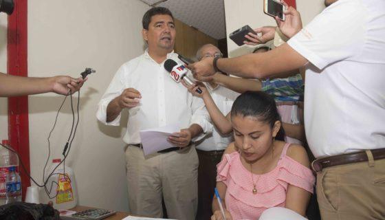 Léstes Flores, director de control electoral del PLC, anunció que el CSE eliminó 1,513 JRV. LA PRENSA/J. FLORES