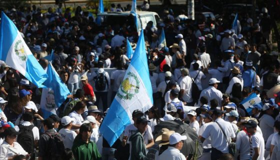Guatemala, protestas, paro nacional