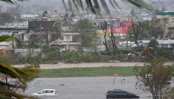 Huracán Marí, Puerto Rico