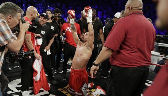 Andre Ward es actualmente el mejor boxeador libra por libra, según las principales publicaciones especializadas en boxeo. LA PRENSA/AP/John Locher/ARCHIVO