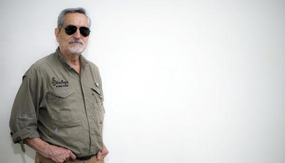 Eddy Kühl,historiador de afición e ingeniero civil de profesión. LA PRENSA/ OSCAR NAVARRETE