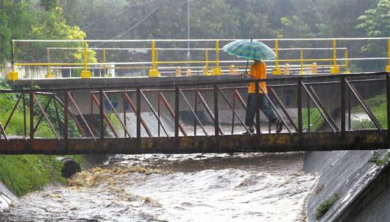 Según expertos, la variación en el comportamiento de las lluvias es a causa del cambio climático. LAPRENSA/ ARCHIVO